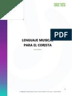 Lenguaje Musical - Curso PACZ