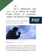 90 años de Conan Doyle
