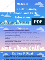 Module 3 - Rizal's Life, Family, Childhood and Early Education.pptx