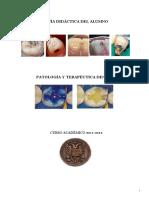 Patología y Terapéutica Dental I