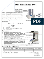 Finalized Panaflex of Vickers Hardness Test