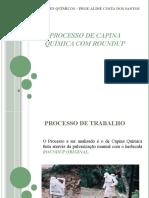 PROCESSO DE CAPINA QUÍMICA COM ROUNDUP