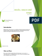 Prepare stocks, sauces and soups SITHCCC007 - Powerpoint
