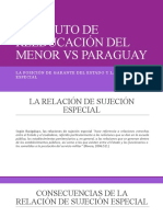 INSTITUTO DE REEDUCACIÓN DEL MENOR VS PARAGUAY