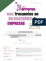 errores de valoracion  de empresas.pdf