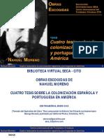 1848. Cuatro tesis sobre la colonizacion española....pdf