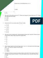 Soal Prediksi UN Matematika 2011 (7)