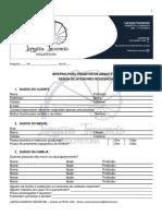 BRIEFING PARA PROJETOS DE ARQUITETURA E INTERIORES