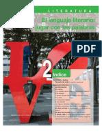 Literatura. Unidad 2- El lenguaje literario jugar con las palabras