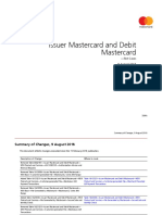 Issuer Mastercard and Debit Mastercard test cases