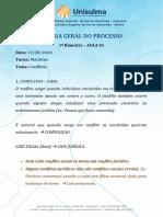 AULA 01 - TGP Matutino - 1 Bimestre - Solução de Conflitos