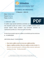 AULA 01 - TGP Noturno - 1 Bimestre - Solução de Conflitos