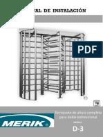 MANUAL DE INSTALACION DE TORNIQUETE  d3 MERIK (1).pdf