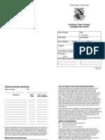 USCG Foreign Tank Vessel Exam. Book No. 1
