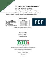 Student Portal System Mobile Application