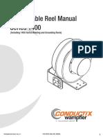 cble reel manual parts of ocnductix20 agost