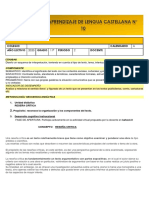 GUÍA  DE APRENDIZAJE LENGUA CASTELLANA No. 10