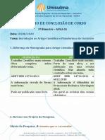 AULA 01 - TCC - Introdução ao Artigo Científico e Plataformas de Currículo