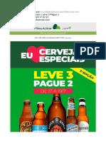 Cervejas Especiais  Leve 3 Pague 2