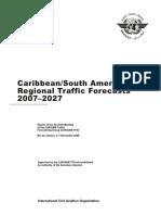 Doc 9917 Pronostico 2007-20027 CAR-SAM OACI