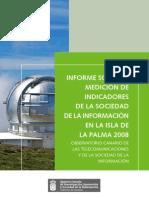 Informe - Medición de Indicadores de la Sociedad de la Información en la isla de La Palma 2008