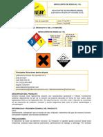 DMS HIPOCLORITO DE SODIO AL 13%