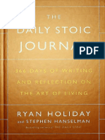 (1st Ed) Hanselman, Stephen_ Holiday, Ryan - The daily stoic journal _ 366 days of writing and reflection on the art of living-Portfolio_Penguin (2017).pdf