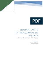 Trabajo Corte Internacional de Justicia