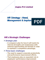 Human Resource Management( Strategic Mgmt)