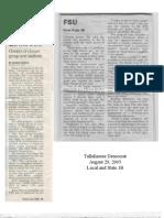 Tallahassee Democrat 2005 Escalera clips