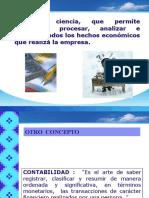 CONCEPTO OBETIVOS IMPORTANCIA CONTABILIDAD MAS PRINCIPIOS DE CONTABILIDAD.ppt