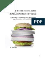 Lo Que Dice La Ciencia Sobre Dietas Alimentación y Salud