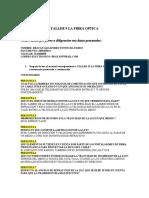 TALLER LA FIBRA OPTICA BASICO