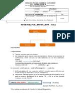 GUIA DE NOMENCLATURA  SALES E-111