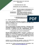 Demanda Verbal de Pertenencia.doc
