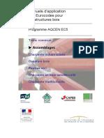 [AQCEN] - EC5 GT2 Calcul des assemblages des structures en bois selon l'Eurocode 5
