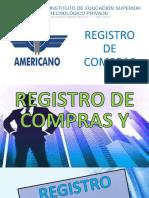 REGISTRO DE COMPRAS I