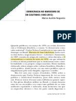 NOGUEIRA, MA. Socialismo e democracia no marxismo de CNCoutinho -1943-2012_2013