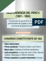10. INDEPENDENCIA DEL PERÚ II (SELECCIÓN PRE)