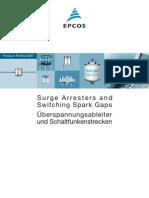 EPCOS Arresters&S SparkGaps 07