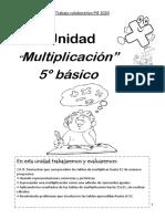 MODULO MULTIPLCIACION 5° , PARTE 2 Y FINAL