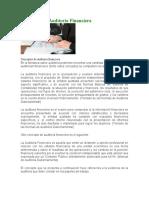 Conceptos de Auditoria Financiera