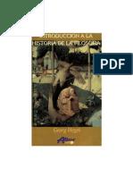 hegel introduccion a la historia de la filosofia
