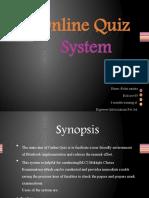 Online-Quiz-Sysrem-Ppt