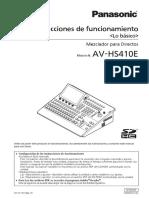 PANASONIC AV-HS410E_Basics(VQT3U72-1)_S