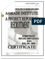 18307294--Project-report-on-Recruitment-(1)