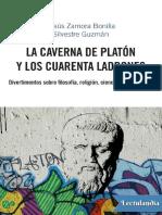 La caverna de Platon y los cuarenta ladrones - Jesus Zamora Bonilla.pdf