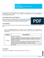 1.Aditivo de Carência - Contrato DPF1190 (produto Dental 205 PF)