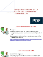Proceso de enseñanza aprendizaje-COMPETENCIA