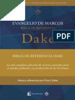 Biblia de Referencia Dake - Evangelio de Marcos
